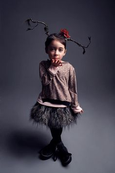Holt and Lulu :: Gallery :: Fall 2012, Funky hair, baided, tutu, stylish children's attire #orawards