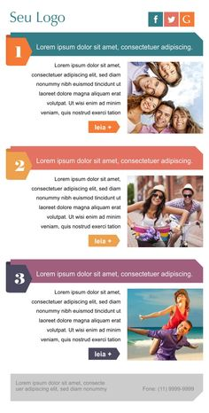 Template para email marketing