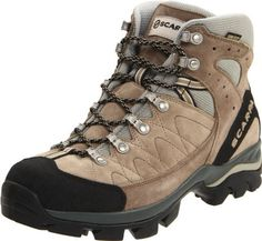 SCARPA Men's Kailash GTX Hiking Boot Scarpa. $123.82. Bi-directional ankle flex. Toe rand for critical protection. suede. Super shock-absorbing Vibram Hi-trail Lite. Vibram sole. Extended Comfort Gore-Tex offers protection with maximum breathability