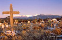 Camposanto (cemetery) near Truchas, New Mexico  Copyright:© Randall K. Roberts