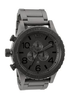 all black mens watch