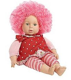 Zapf Creation Fresh and Fruity Curly Cuties- Strawberry Baby
