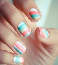 Cool Pastel Nail Designs