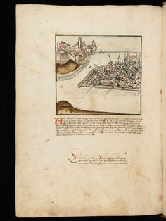 Bremgarten, Stadtarchiv Bremgarten, Bücherarchiv Nr. 2, f. 121v – Werner Schodoler, Eidgenössische Chronik, Vol. 2