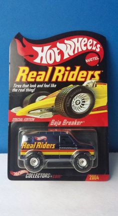 Hot Wheels RLC 2004 Real Riders Baja Breaker Van
