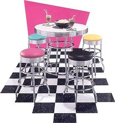 Nostalgic bistro set. #Retro #furniture #Toronto.
