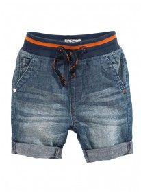 Denim Shorts Mid Wash Mid Blue