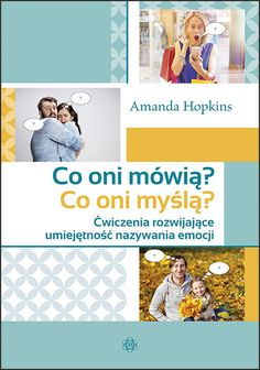 CO ONI MÓWIĄ Asd, Amanda, Books, Speech Language Therapy, Therapy, Literatura, Cuba, Libros, Book
