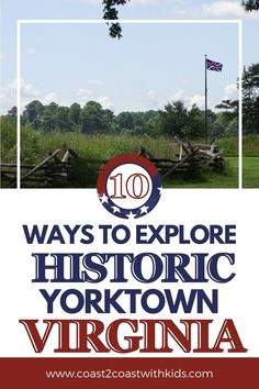 Everything from National Park sites to living history museums to cruises and ghost walks! Travel Guides, Travel Tips, Yorktown Virginia, Road Trip Across America, Ghost Walk, Family Adventure, City Guides, Travel Information, Amazing Adventures