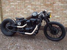 hellkustom: More pics here: http://www.hellkustom.com/2016/03/honda-shadow-600-by-voodoo-custom-cycles.html  Honda Shadow