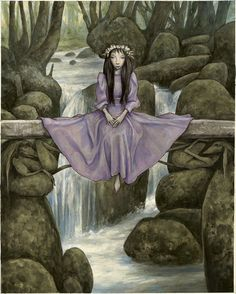 "modern-faerie-tales: """"Trolls Bridge"" by Brian Froud. Trolls Exhibition """