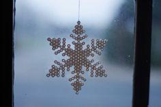 HAMA beads snowflake