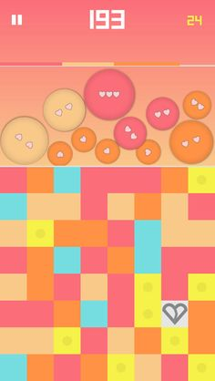 Colors - a color matching game        iOS Universal Welcome to a colorful world!  Match colors by drawing lines with your finger and pop the same colored balls before they overwhelm you!   6MB
