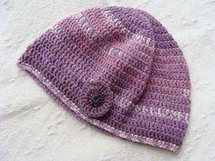 Foxglove Crochet Hat £5.00