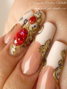 Art nails top coat and nail art on pinterest bibulle blog nail art nail art liquid jewel a big christmas gift for youi dont know about being able to replicate this but wow this is gorgeous prinsesfo Image collections