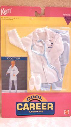 1992 Ken - Doctor (Cool Career) #866