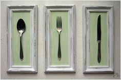 Cuadros Shabby-chic Para Decorar Cocina O Comedor