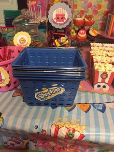 Shopkins Shopping Baskets for their goodies