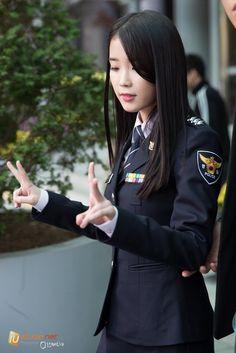 Best Uniforms, Girls Uniforms, Iu Fashion, Fashion Outfits, Female Soldier, Military Women, Cute Asian Girls, Beautiful Asian Women, Woman Face