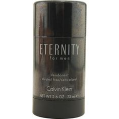 Eternity By Calvin Klein Deodorant Stick Alcohol Free 2.6 Oz