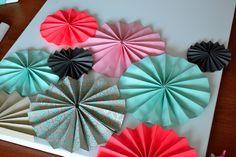 DIY Friday Series: Spruce-up Your Bedroom Walls with DIY Pinwheels   Crane & Canopy   Blog