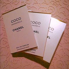 Authentic Chanel Coco Mademoiselle 3pcs 100% Authentic Chanel Coco Mademoiselle 3pcs 1.5ml each New CHANEL Other