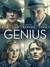 Amazon.com : Genius Movie Jude Law, Colin Firth, Ernest Hemingway, Scott Fitzgerald, Nicole Kidman, Guy Pearce, Netflix Movies, Movie Tv, Movies Online