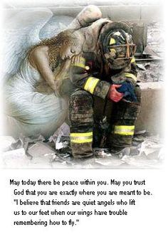 Angel for firefighters