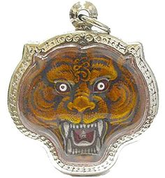 Muay Thai Magic Tiger Pendants Amulets Magic Tiger Lp Pern,Life Protection by Amulets & Pendants Jewelry -- Awesome products selected by Anna Churchill