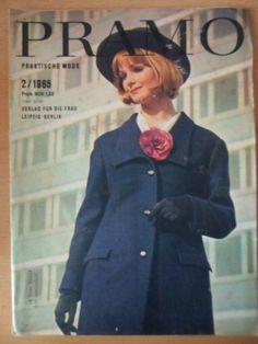 PRAMO PRAKTISCHE MODE Februar 2/1965 + orginal Schnittmusterbogen TOP Zustand | eBay