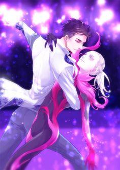Yuri!!! On Ice (ユーリ!!! On ICE) - Otabek Altin x Yuri Plisetsky (OtaYuri) (オタユリ)