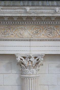 Maison Carrée, Nîmes, architectural detail