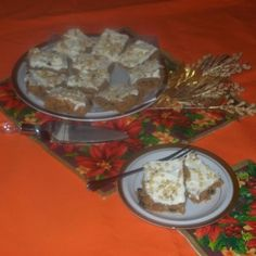 For as long as I can remember, during the Holidays my family has always gotten together to share in our Holiday Cookies. One of are favorite ones are these yummy Spicy Sweet Potato Bars