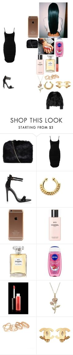"""~💖~"" by foodislyfe ❤ liked on Polyvore featuring Notion 1.3, Chanel, Nivea, MAC Cosmetics, With Love From CA and Altuzarra"