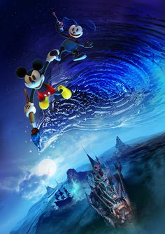Epic Mickey 2 Promotional Materials on http://www.topdesignmag.com