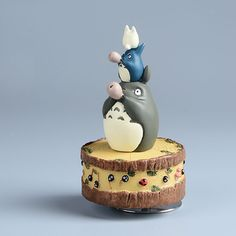 Aliexpress.com : Buy Studio Ghibli My Neighbor TOTORO Resin Music Box Japanese Anime Action Figure Miyazaki Hayao TOTORO figure Kids Toys Model doll from Reliable toy crossbow suppliers on LS Hope City