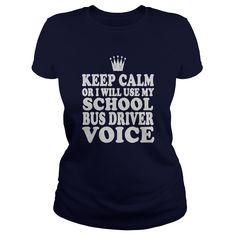 School Bus Driver Voice Shirt