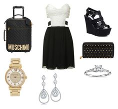 """airport/first class"" by littlewonder2504 ❤ liked on Polyvore featuring Glamorous, Steve Madden, Moschino, Alexander McQueen, Michael Kors, Blue Nile and Bling Jewelry"