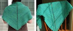 Sisters Knitted Lace Shawl [FREE Knitting Pattern]