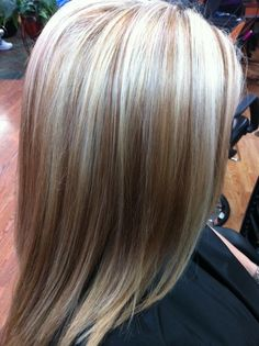Natural Hi-lite & Low-lite in blonde hair.  Perfect for summer!!