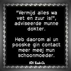 Schoonmoeder...
