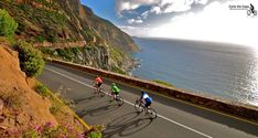 Cycle the fantastic roads of the Western Cape with its stunning scenery, rugged coastline and fascinating history with us! Cloud Wallpaper, Ancient Egypt, Cape Town, Cycling, Scenery, Country Roads, Tours, The Incredibles, Sea