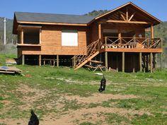 Ranch Farm, Cabin, House Styles, Ideas, Home Decor, Arrow, Home Plans, Country Houses, Mountain Cabins