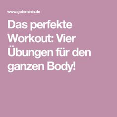 The perfect workout: four exercises for the whole body! - The perfect workout: four exercises for the whole body! Sport Fitness, Health Fitness, Moving On Tattoos, Trampoline Workout, Nutrilite, Body Challenge, Sporty Girls, The Cure, About Me Blog