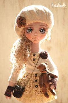 With love these dolls have the cutest faces...several pictures to scroll through