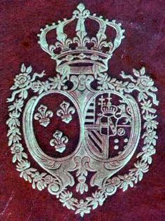 Royal Crest of Queen Marie Antoinette