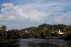Panorama sul Po, settembre 2014