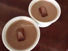 Receta de Mousse delicioso de chocolate