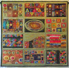 Frieda Oxenham: Klimtesque Quilt