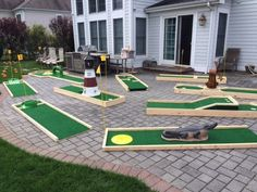 The Best Portable Mini Golf Course Rental on Long Island! Our 9 Hole Mini Golf Course is available for schools, camps, corporate events CALL: Public Golf Courses, Best Golf Courses, Backyard Play, Backyard Games, Backyard Weddings, Outdoor Games, Cheap Golf Clubs, Golf Card Game, Dubai Golf